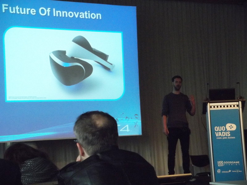 Sony executive presents VR development details at Quo Vadis Conference in Berlin