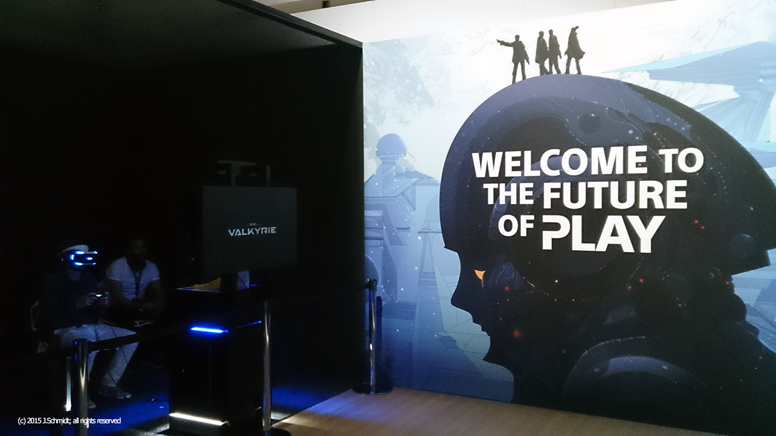 The future of play seems to be immersive for Sony's PS4