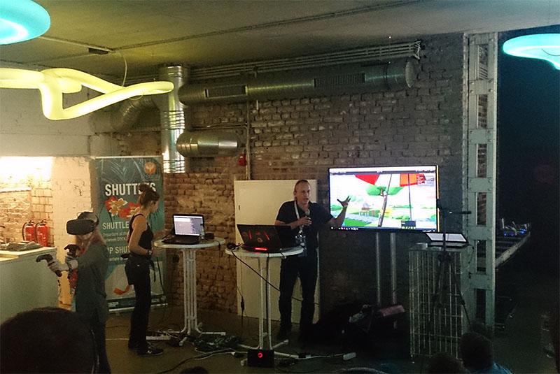 VR unicorns presenting VR sports